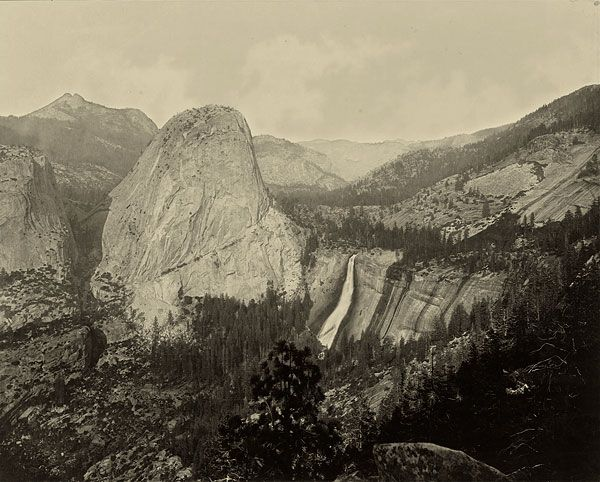 'Cloud's Rest, Valley of the Yosemite', ca. 1872. Eadweard Muybridge