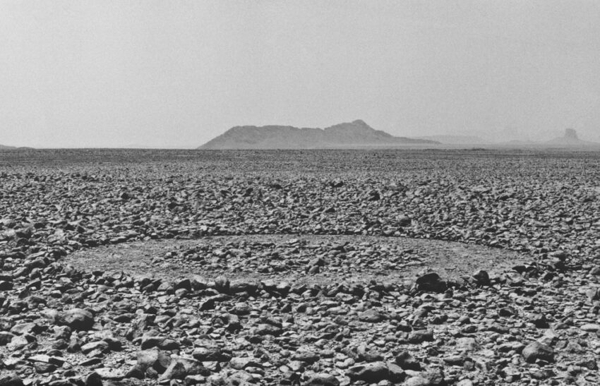 Richard Long The Sahara