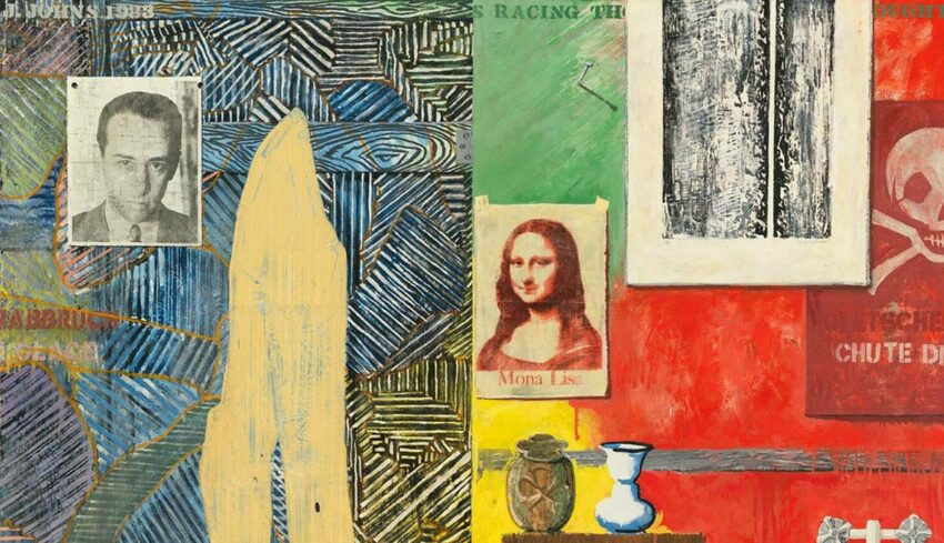 Jasper Johns Collage