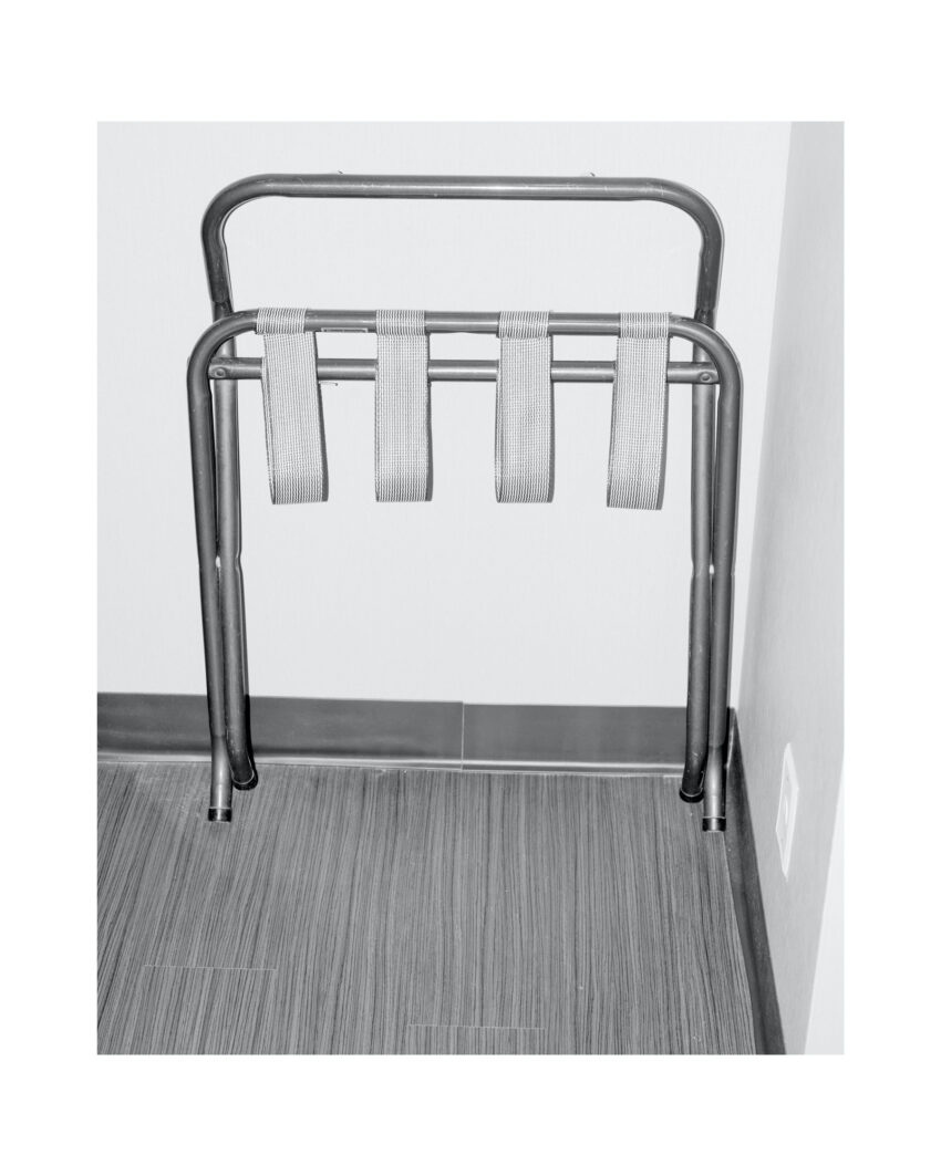 Untitled (Luggage Rack)